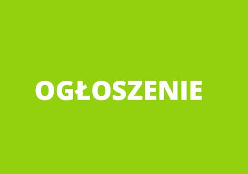 Ogłoszenie Dyrektora Szkoły Podstawowej w Okalewie z dnia 14 stycznia 2021 r.