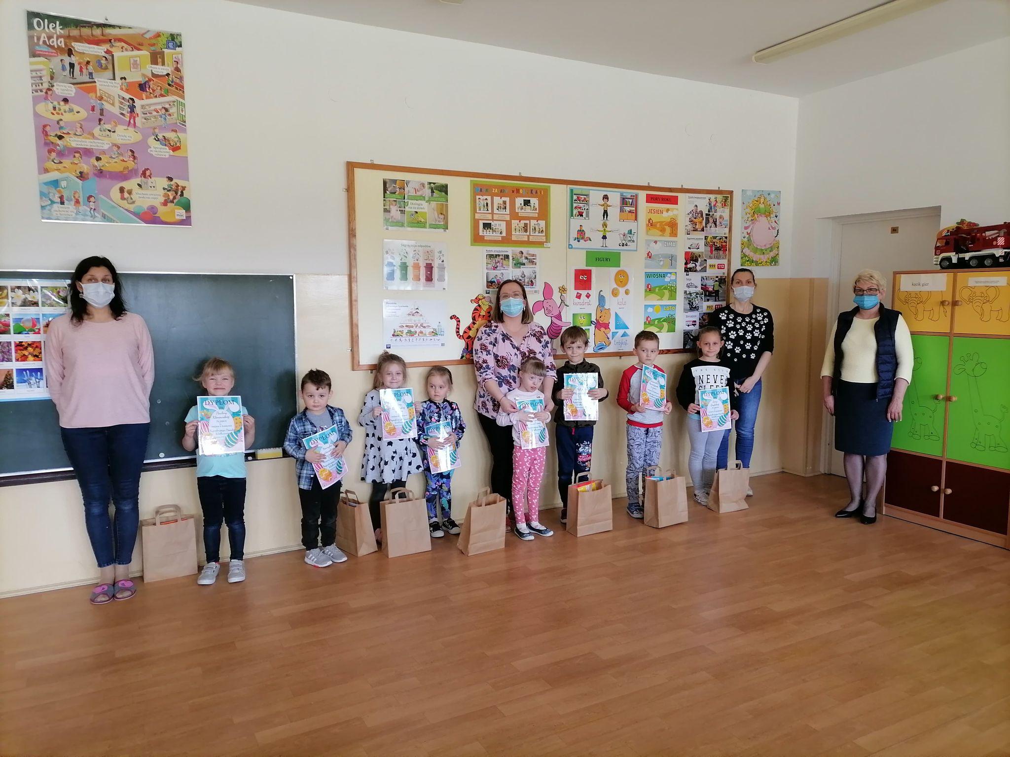 Konkurs Wielkanocny w oddziałach przedszkolnych